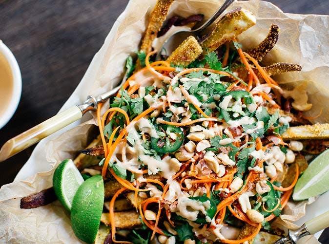 bahn mi sweet potato fries 501