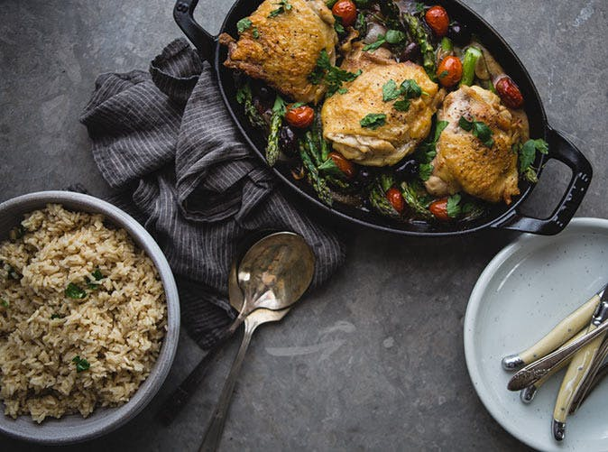 baked chicken with asparagus olives and tomatoes 501
