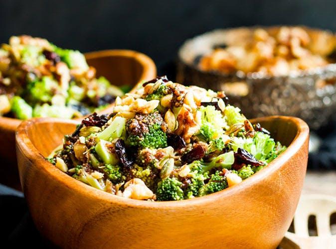 balsamic chopped broccoli salad 501