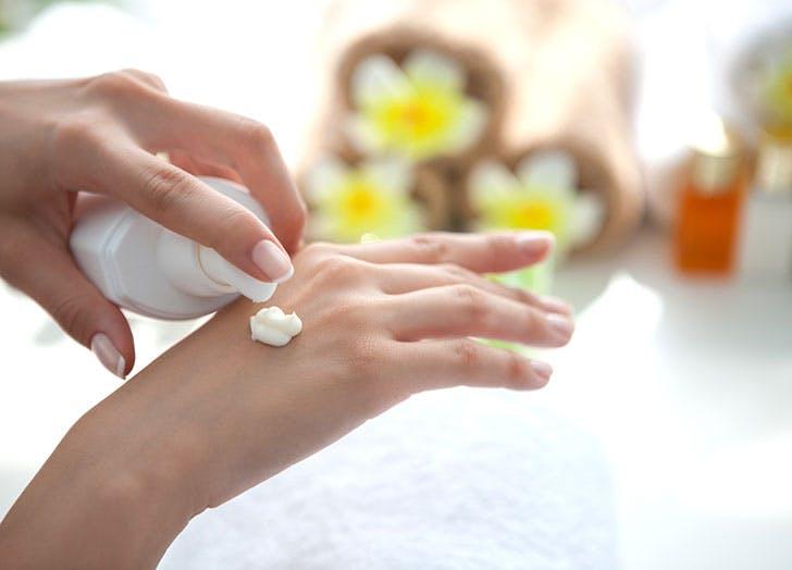 best beauty tips hand sunscreen