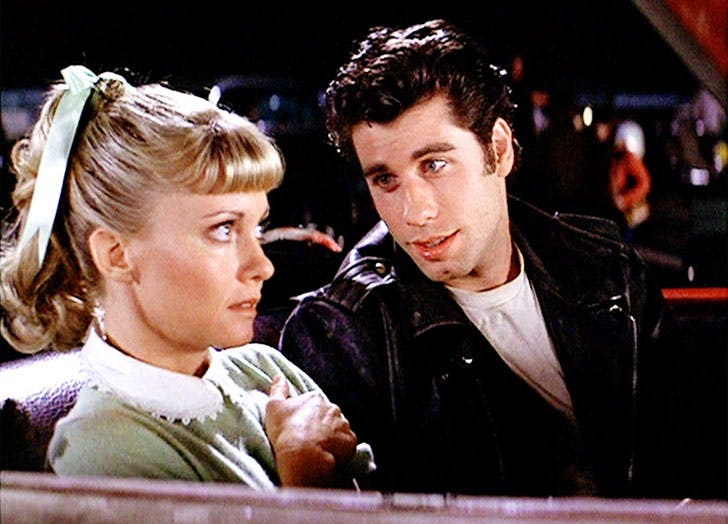 best movie couples grease