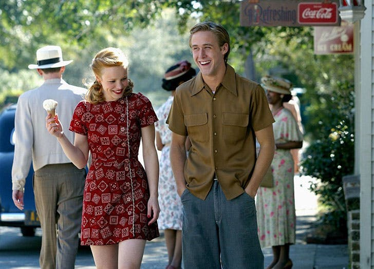 best movie couples the notebook
