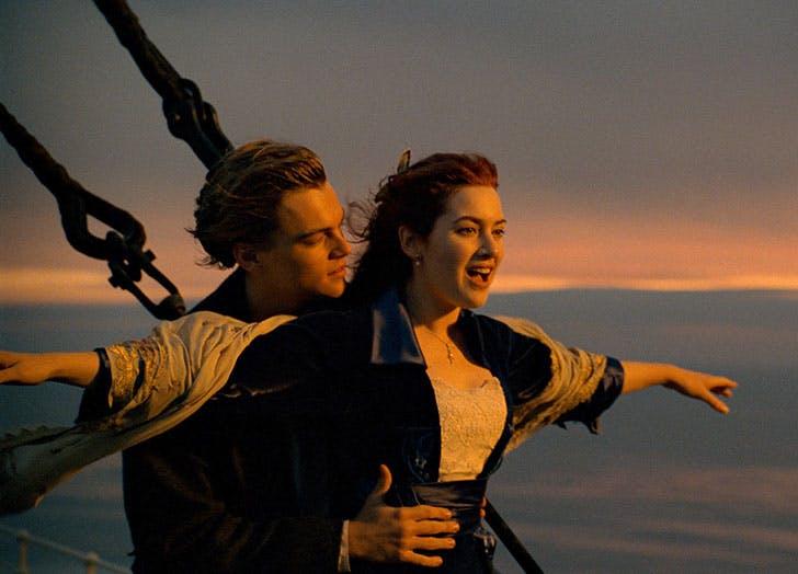 best movie couples titanic