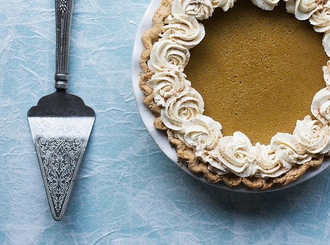 boozy pumpkin eggnog pie 501