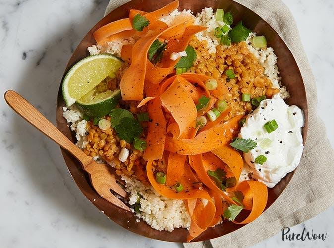 cauliflower rice bowl 501
