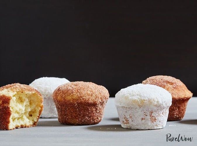 cinnamon sugar doughnut muffins 501