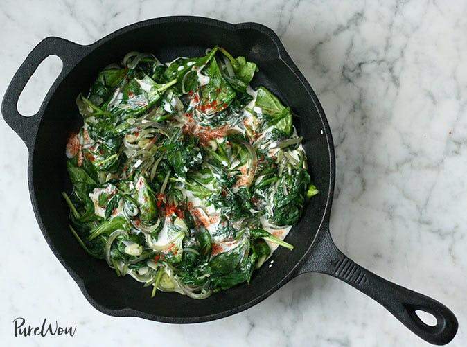 coconut creamed spinach 501