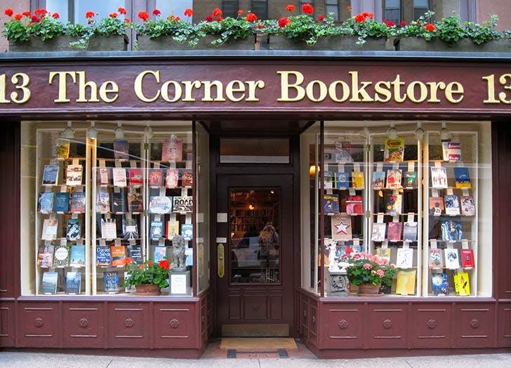 corner bookstore NY