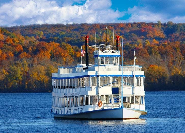essex ct ferry fall foliage NY