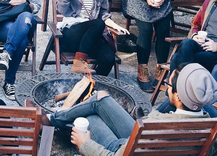 fire pits at heritage general store
