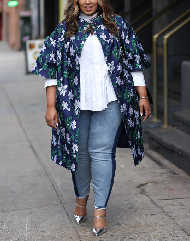 floral jacket fall outfits