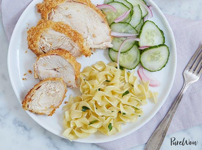 garlic breaded roast chicken breast 501