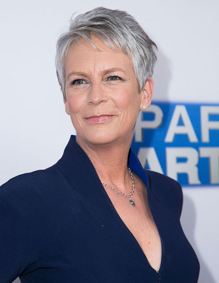 going gray jamie lee curtis