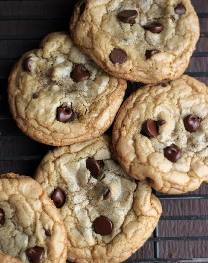 grapeseed oil chocolate chip cookies LIST