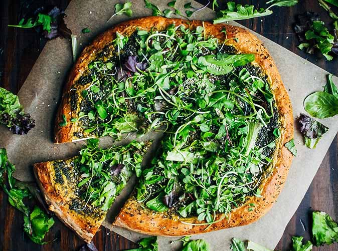 green goddess pizza 501