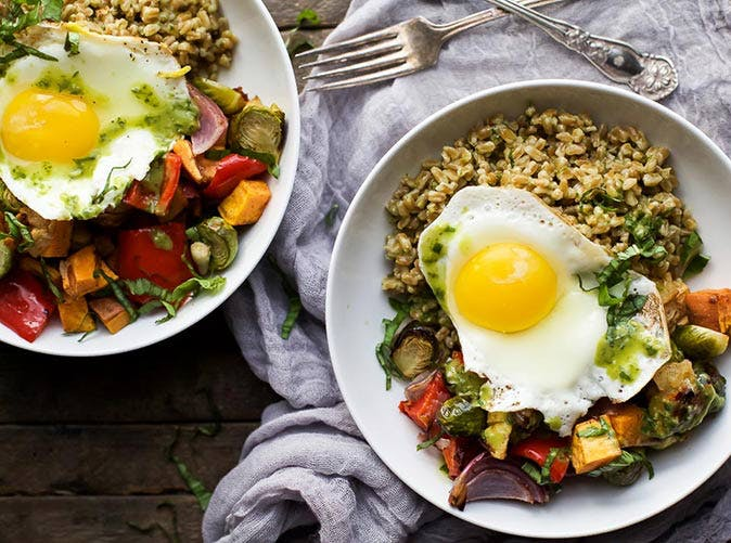 harvest roasted vegetable grain bowls 501