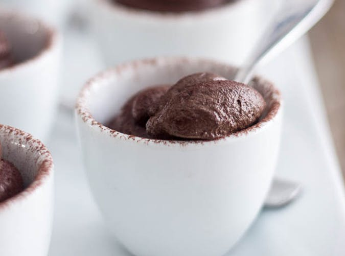 healthy desserts chocolate mouse SLIDE