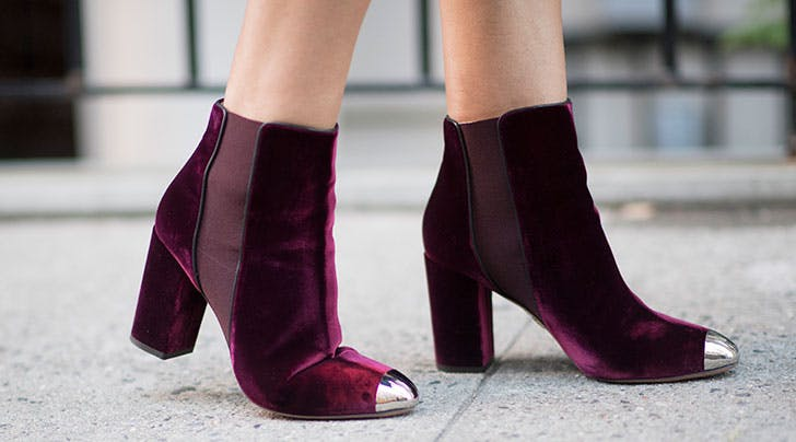 Here's How to Protect Your Fancy New Velvet Shoes