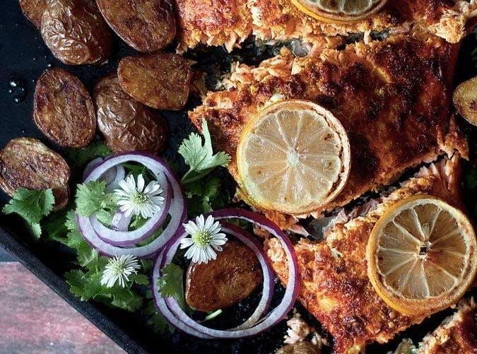 indian inspired tandoori salmon SLIDE5