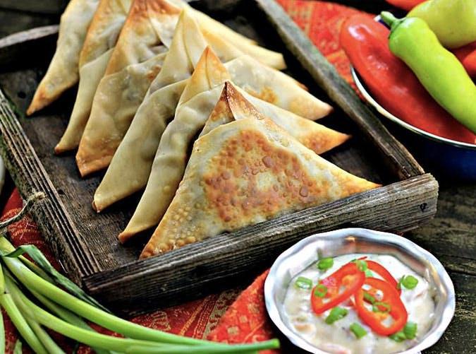 indian inspired vegetable samosas SLIDE14