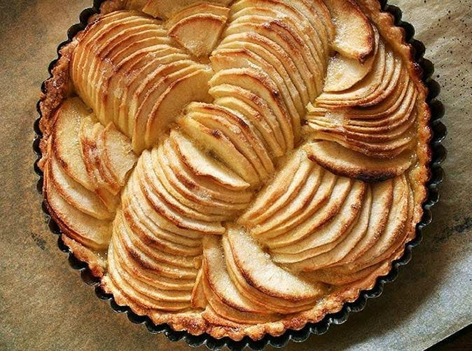 julia child apple tart tatin 501