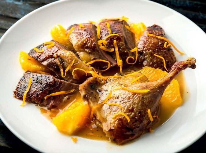 julia child duck a lorange recipe 501