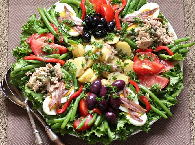 julia child salad nicoise 501