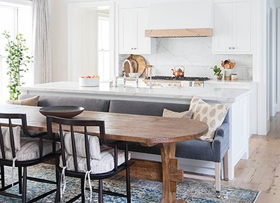 This Open Concept Kitchen Hack Is Our New Obsession