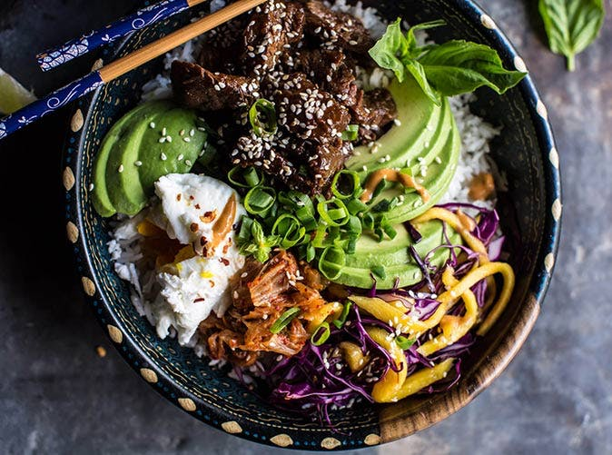 korean bulgogi bbq steak bowls 501
