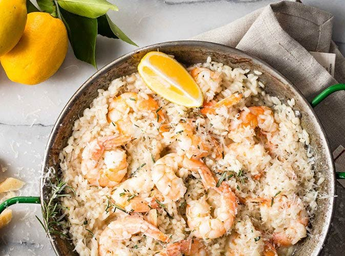 lemon shrimp risotto kate middleton 501