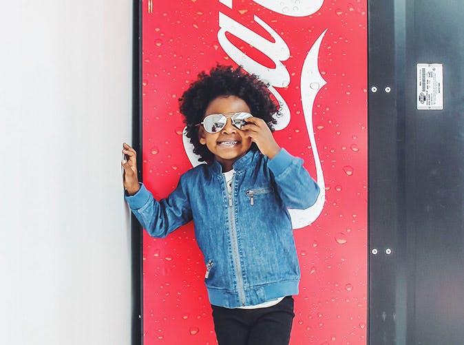 little boy coke machine 501