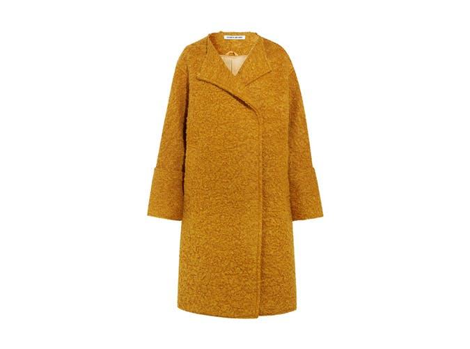 marigold oversized coat splurge