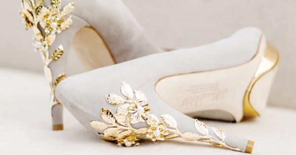 4bfaa8b4afbb Maximalist Wedding Shoes - PureWow