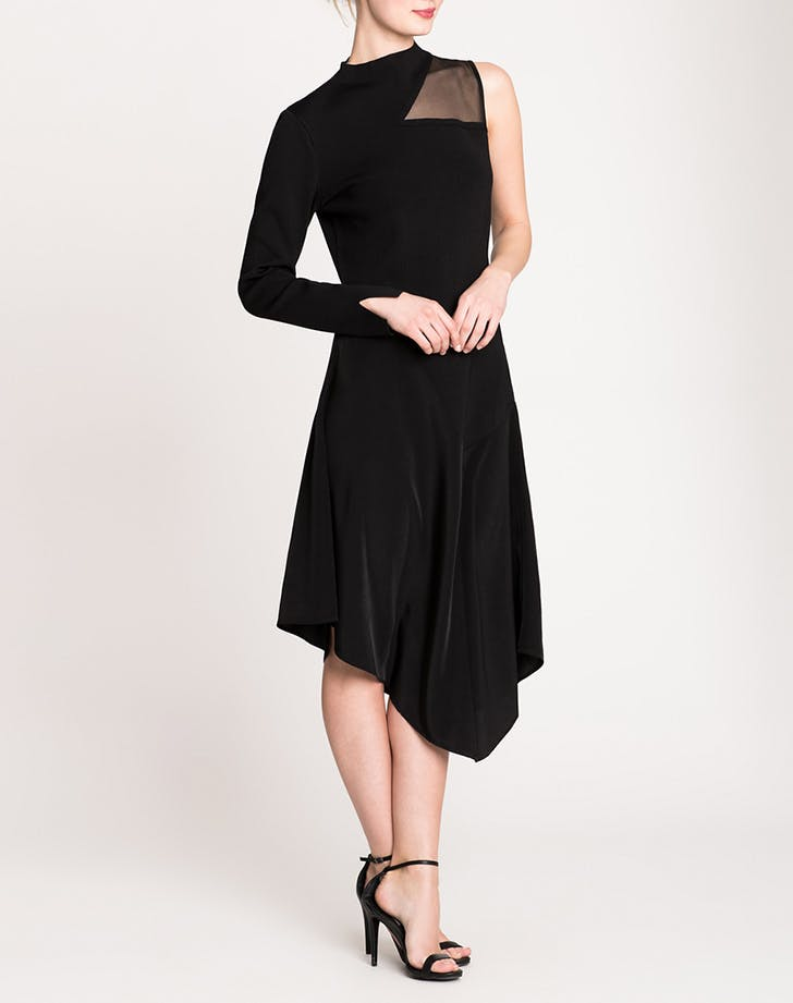 nic and zoe one shoulder dress NY