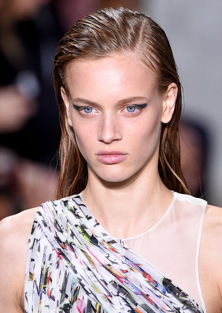 nyfw beauty trends cat eye