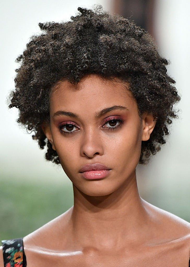 nyfw beauty trends pink shadow
