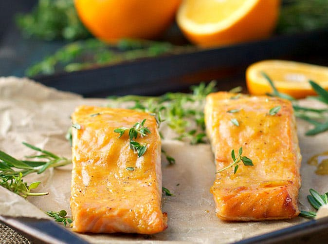 orange maple baked salmon 501