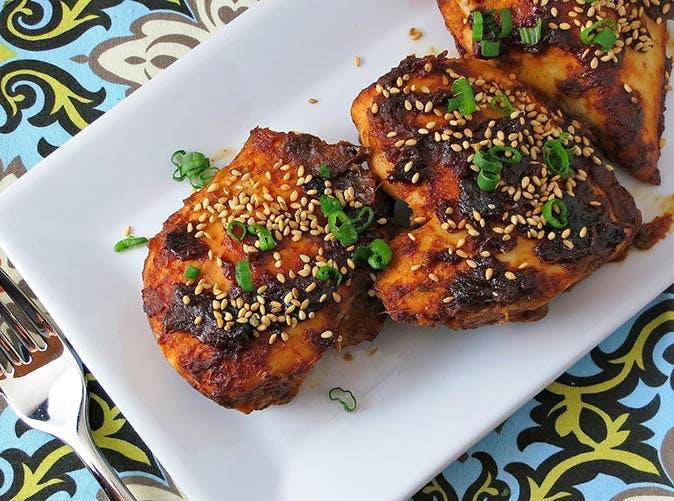 oven baked sriracha chicken 501