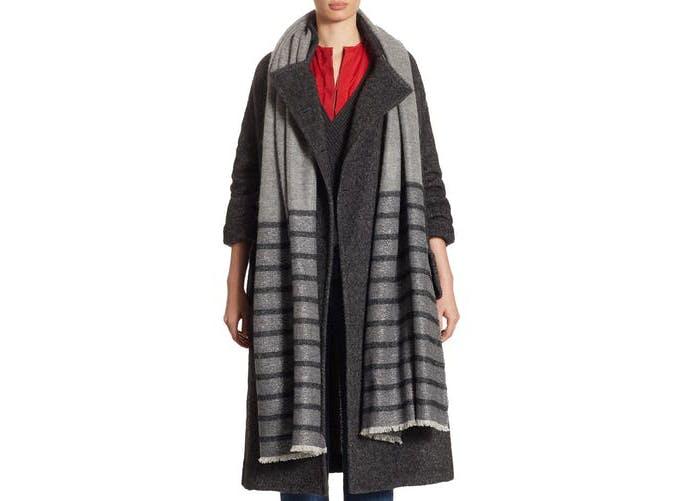 oversized scarf splurge