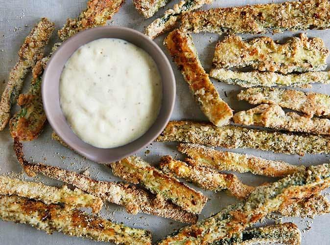 paleo low carb zucchini fries 501