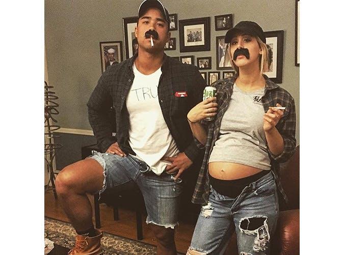 pregnant halloween costumes beer guts SLIDE