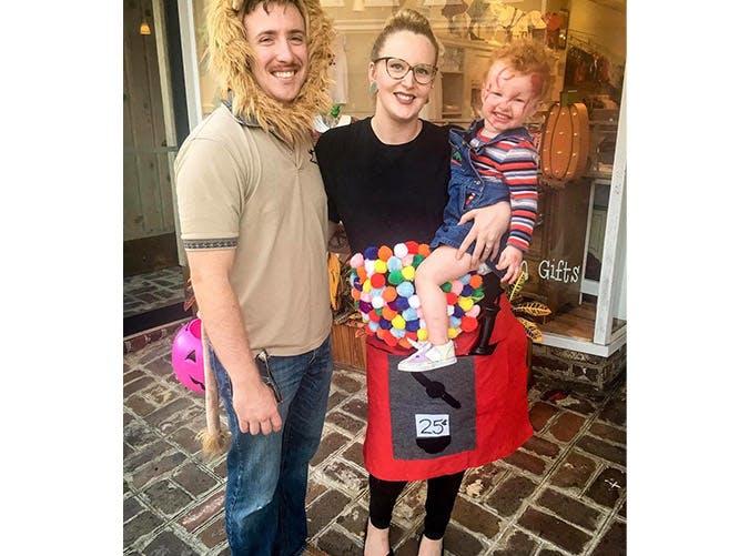 pregnant halloween costumes gumball machine SLIDE