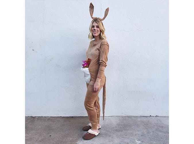 pregnant halloween costumes kangaroo SLIDE