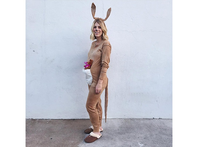 A Kangaroo  sc 1 st  PureWow & The Best Halloween Costume Ideas for Pregnant Women - PureWow