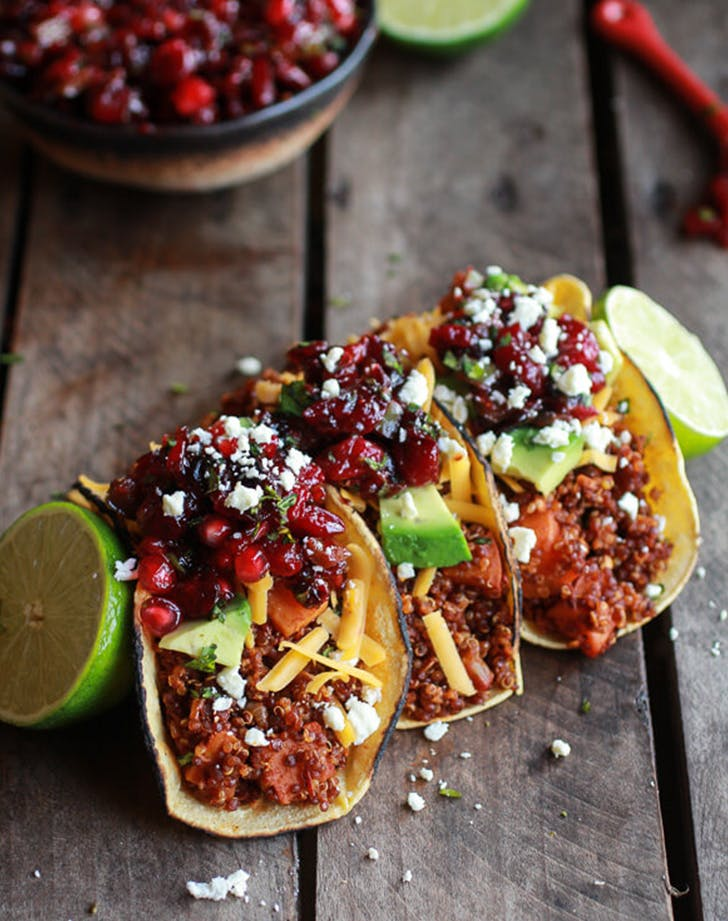 quinoa sweet potato tacos