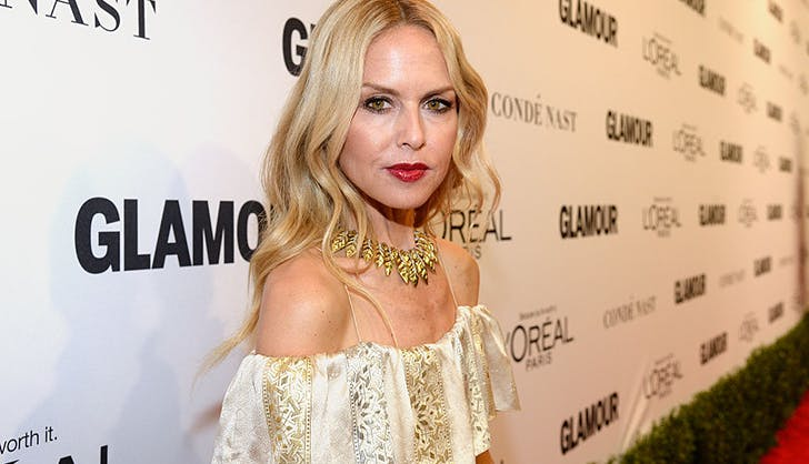 rachel zoe finery red lipstick