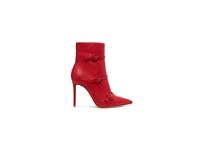 red gianvito rossi boots