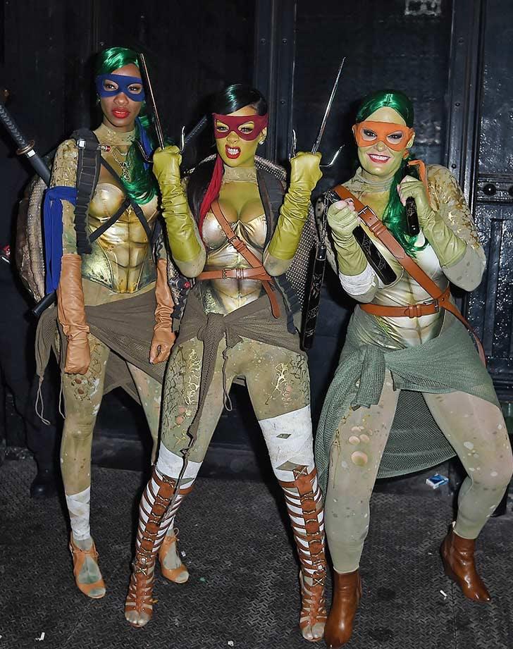 rihanna ninja turtle halloween LIST