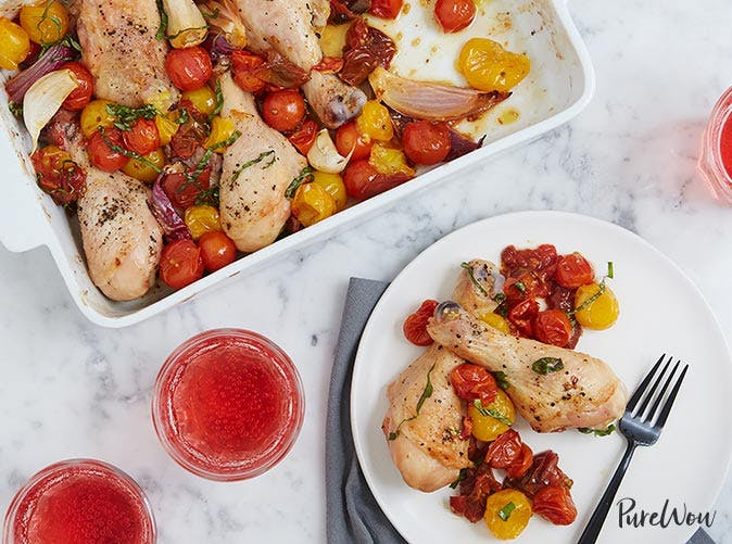 roasted drumsticks with tomatoes 501