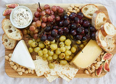 roasted grape ultimate cheese plate 290
